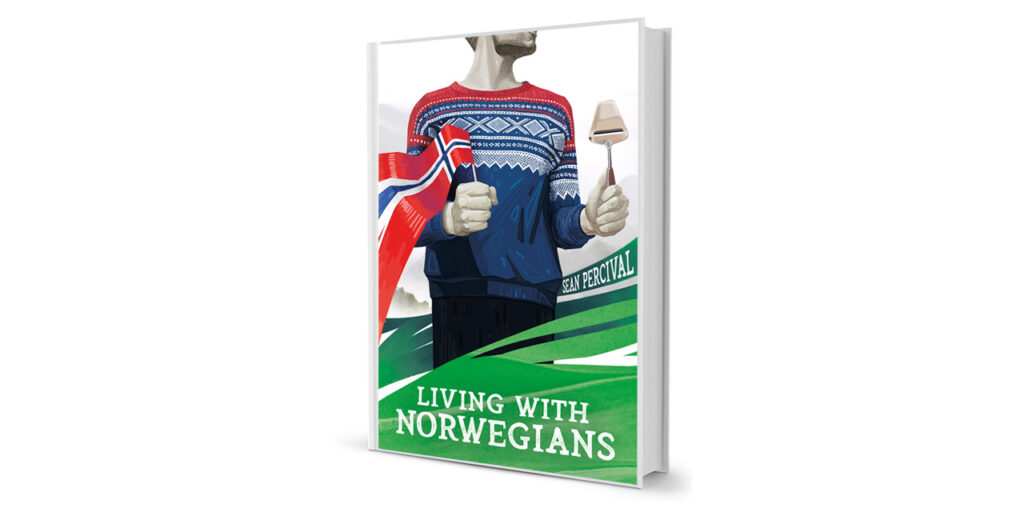 Living with Norwegians Book by Sean Percival
